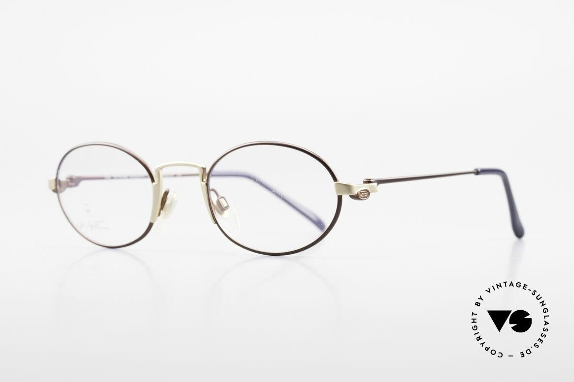 Bugatti EB601 Oval Luxury Eyeglasses Small