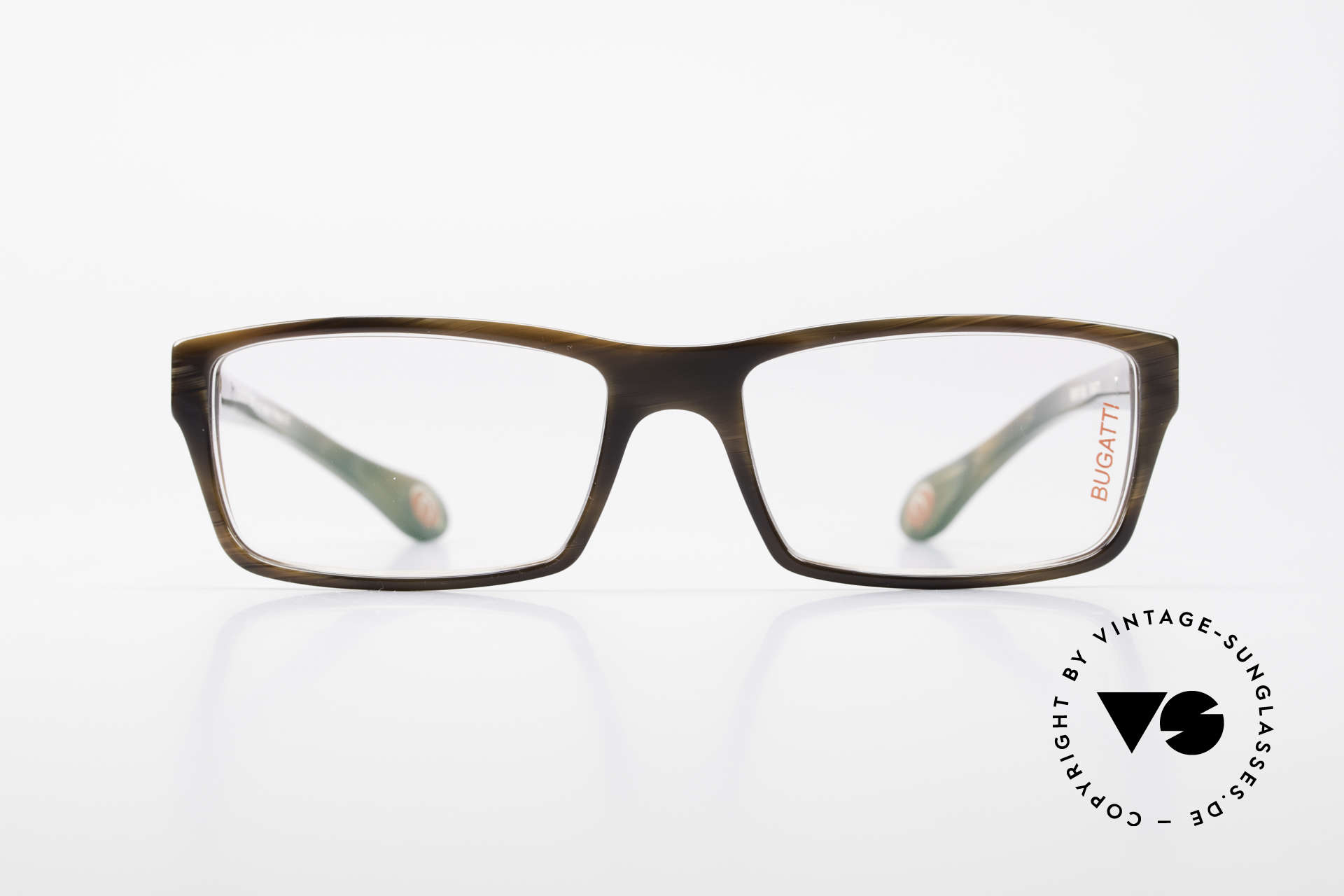 Bugatti 487 Striking Designer Glasses Men, TOP-NOTCH quality of all frame components, Made for Men
