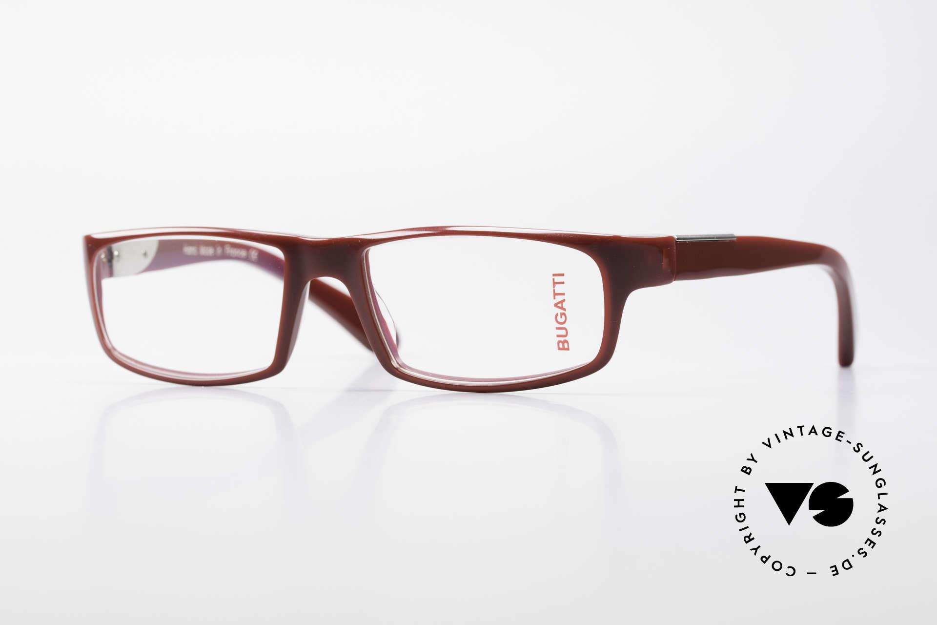 Bugatti 532 Striking Luxury Glasses Men, striking plastic eyeglass-frame by BUGATTI, Made for Men