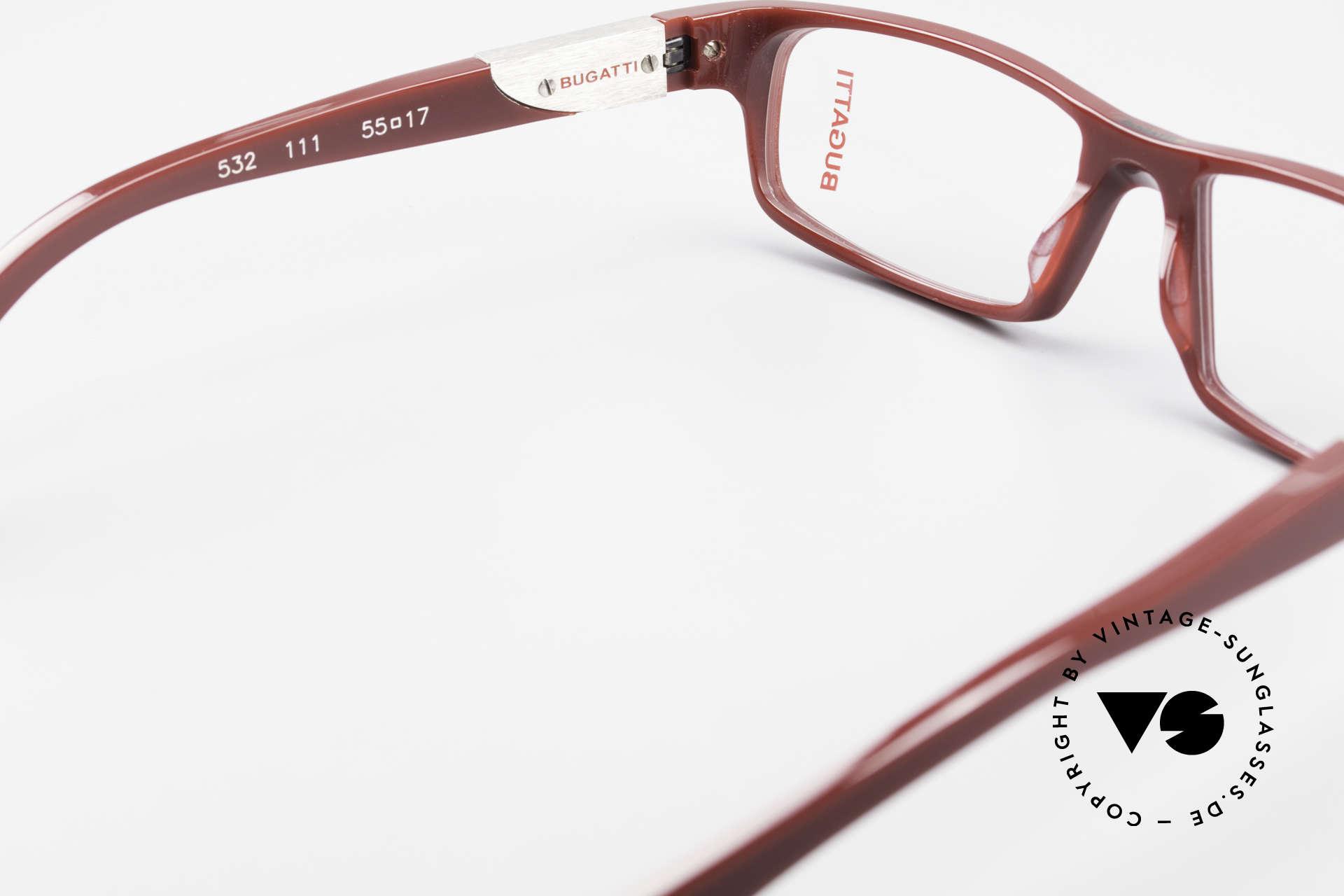 Bugatti 532 Striking Luxury Glasses Men, the frame is made for optical lenses / sun lenses, Made for Men