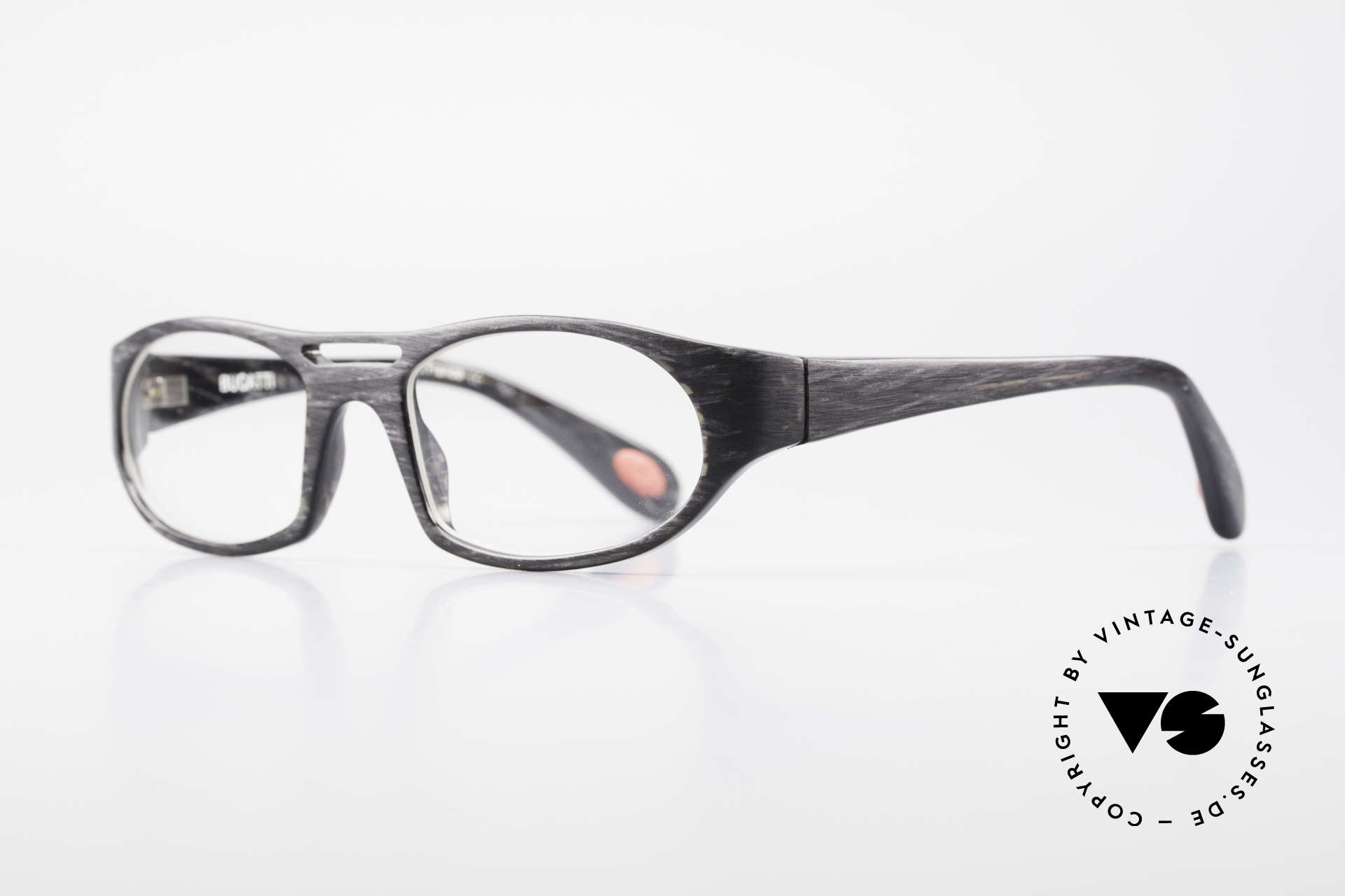 Bugatti 220 XLarge Designer Luxury Frame, 1. class wearing comfort due to spring hinges, Made for Men