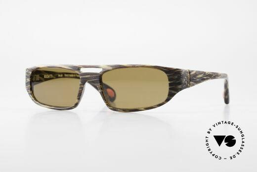 Bugatti 222 Luxury Designer Sunglasses Details