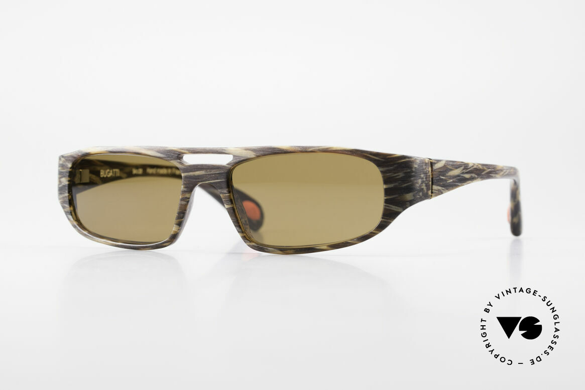 Bugatti 222 Luxury Designer Sunglasses, striking HIGH-TECH sunglasses by BUGATTI, Made for Men