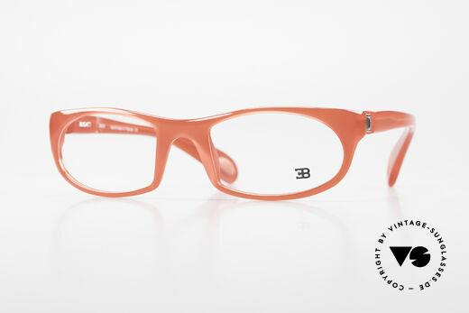Bugatti 326 Odotype Rare Designer Eyeglass-Frame Details