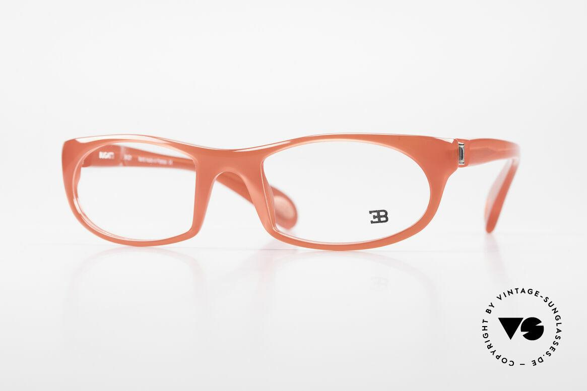 Bugatti 326 Odotype Rare Designer Eyeglass-Frame, sporty BUGATTI high-tech eyeglass-frame, Made for Men and Women