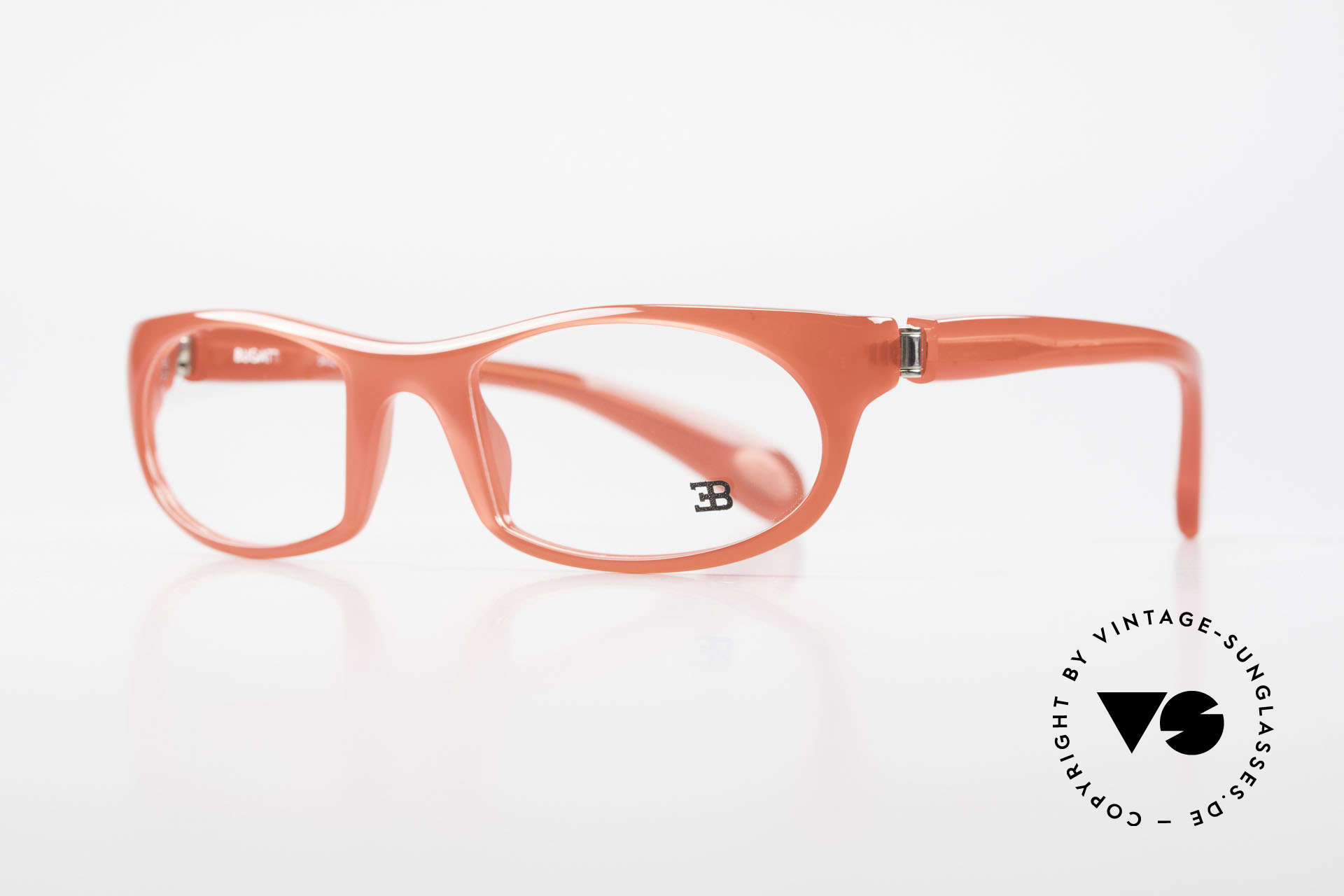 Bugatti 326 Odotype Rare Designer Eyeglass-Frame, ergonomic frame with 180°-spring hinges!, Made for Men and Women