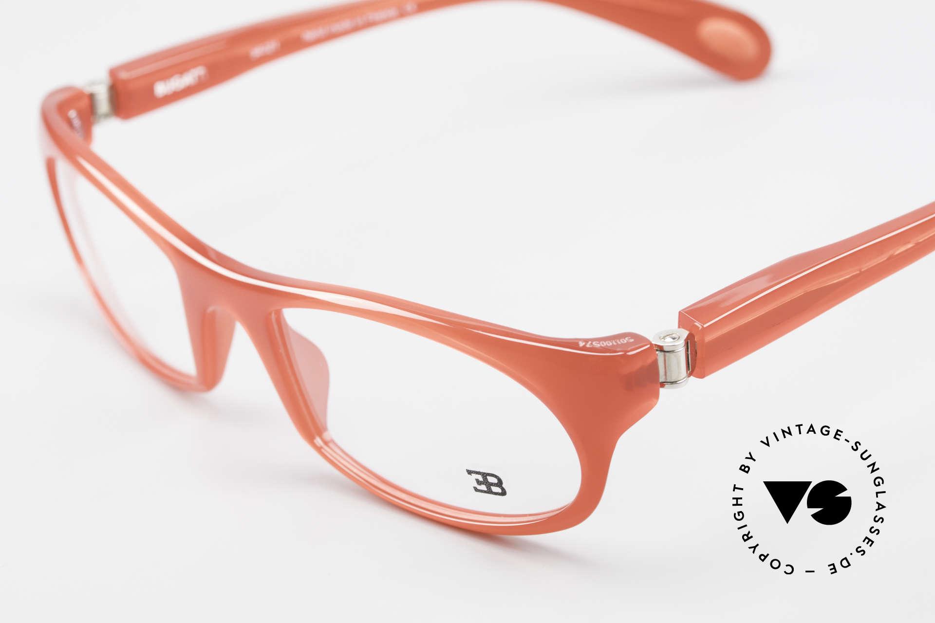 Bugatti 326 Odotype Rare Designer Eyeglass-Frame, very special lens construction; TOP comfort, Made for Men and Women