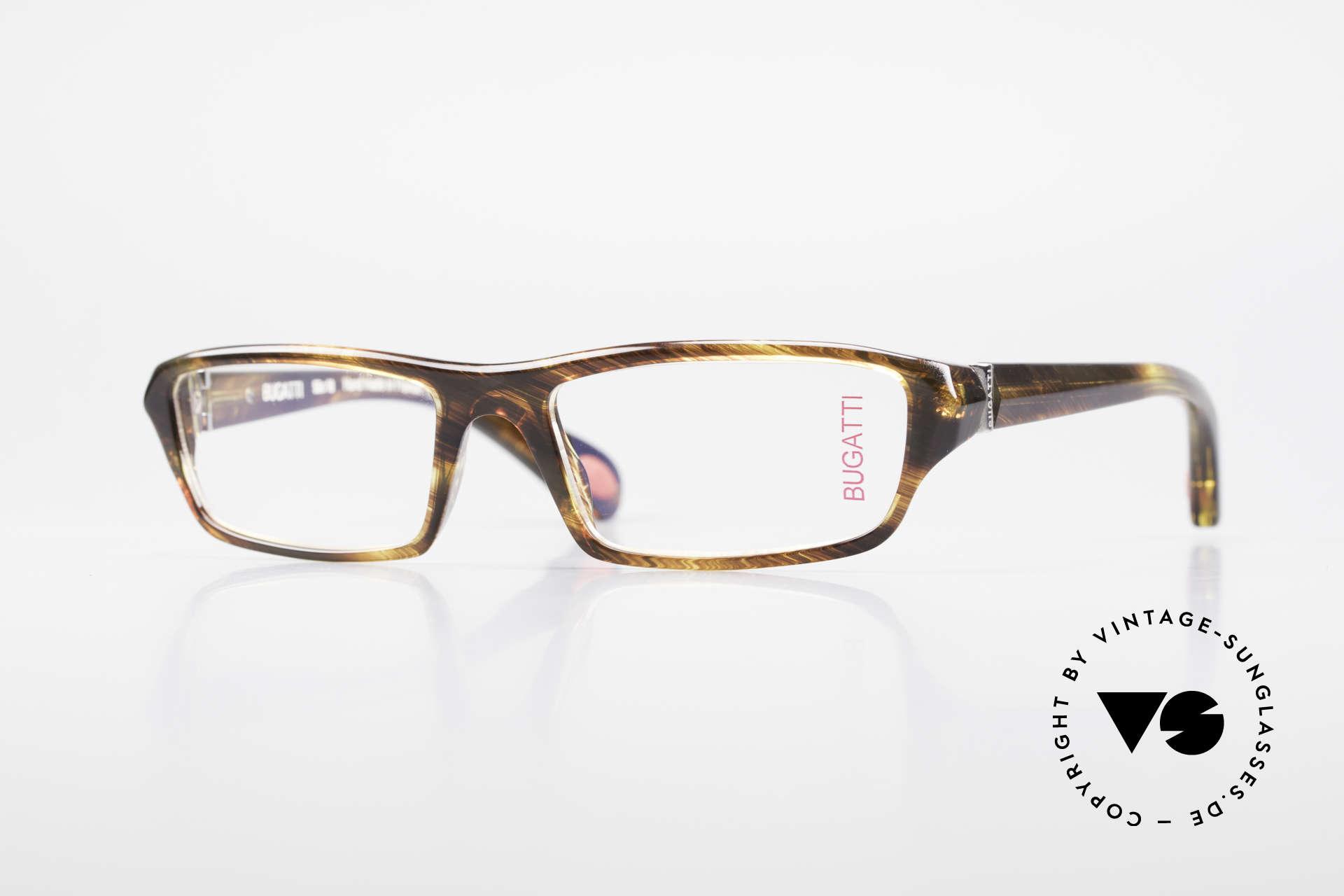 Bugatti 470 Rare Designer Eyeglasses Men, classic high-tech eyeglass-frame by BUGATTI, Made for Men