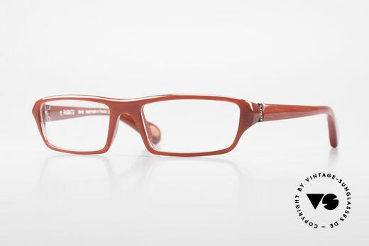 Bugatti 470 Dark Red Designer Eyeglasses Details