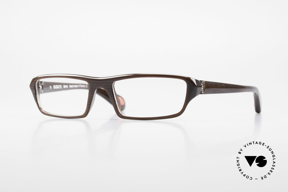 Bugatti 470 Limited Designer Eyeglasses, classic high-tech eyeglass-frame by BUGATTI, Made for Men