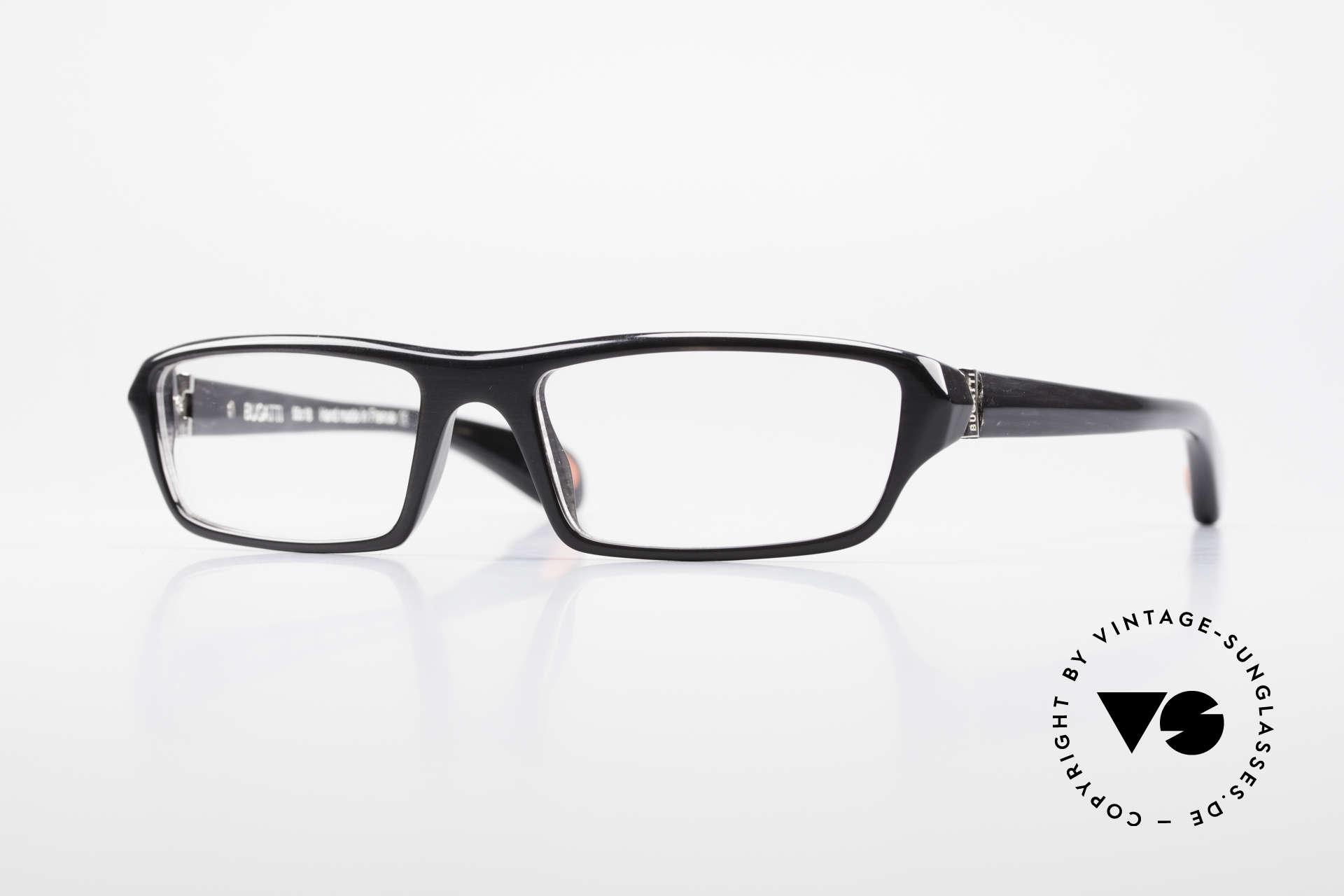 Bugatti 470 Limited Luxury Eyeglasses Men, classic high-tech eyeglass-frame by BUGATTI, Made for Men
