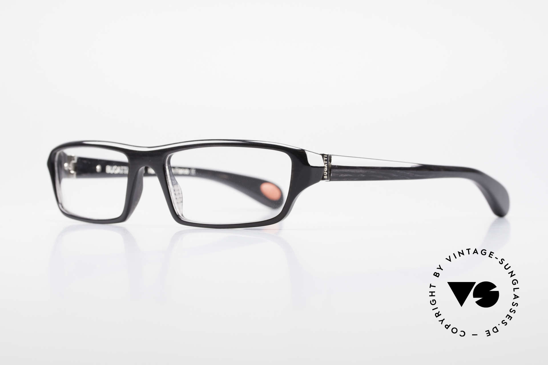Bugatti 470 Limited Luxury Eyeglasses Men, 1. class wearing comfort due to spring hinges, Made for Men