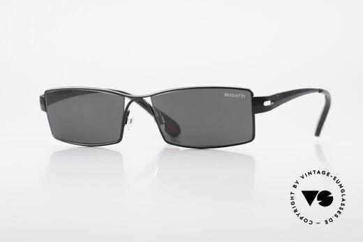 Bugatti 499 Rare Designer Sunglasses XL Details