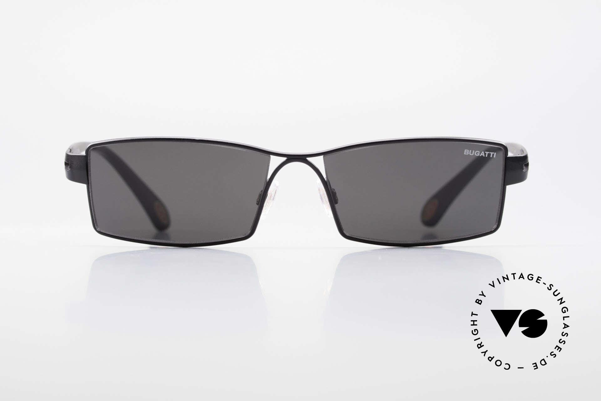 Bugatti 499 Rare Designer Sunglasses XL, TOP-NOTCH quality of all frame components, Made for Men