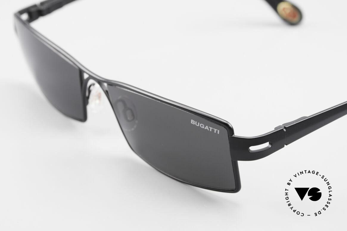 Bugatti 499 Rare Designer Sunglasses XL, unworn model comes with orig. case & packing, Made for Men