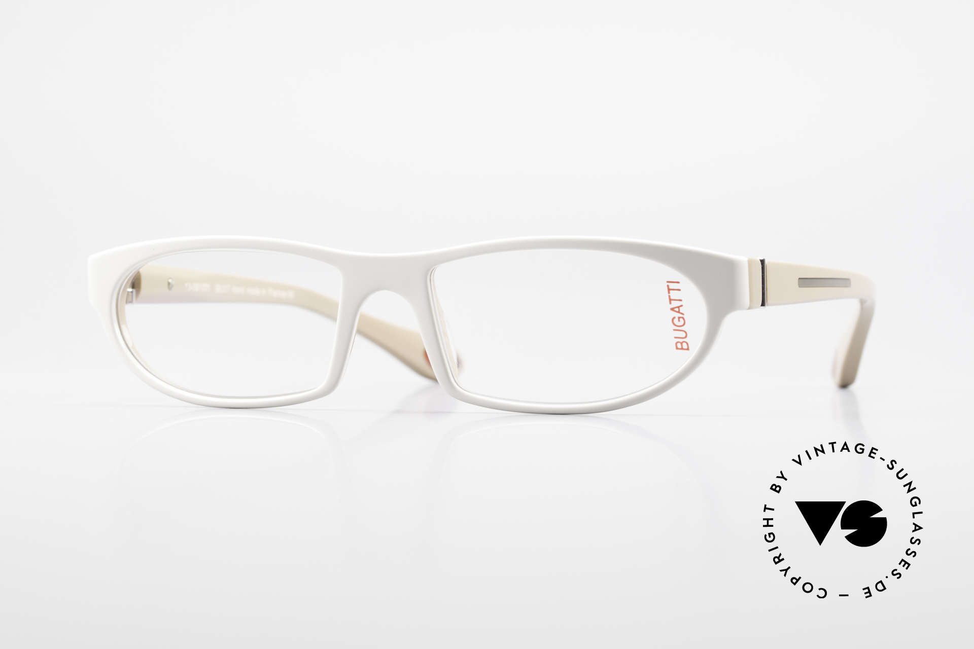 Bugatti 489 Sporty Designer Glasses Men, striking high-tech eyeglass-frame by BUGATTI, Made for Men