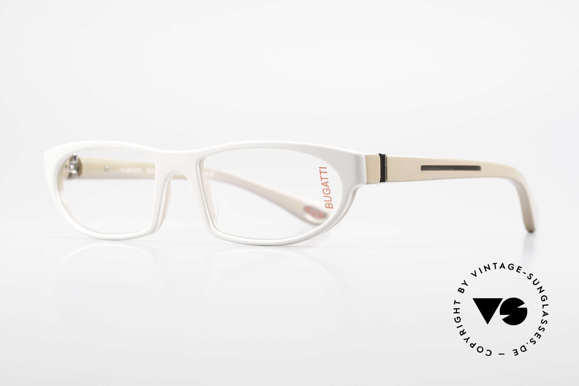 Bugatti 489 Sporty Designer Glasses Men, 1. class wearing comfort due to spring hinges, Made for Men