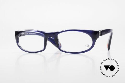 Bugatti 326 Odotype Sporty Designer Eyeglasses Details
