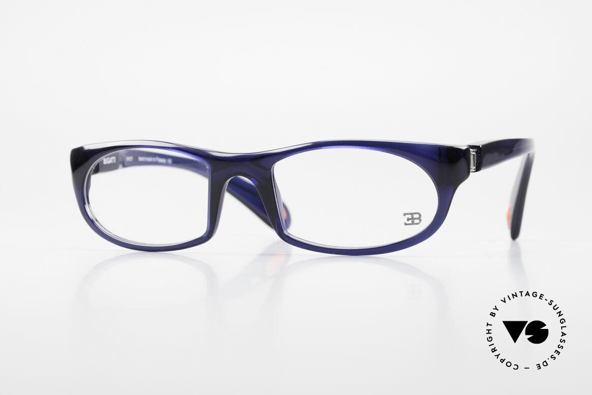 Bugatti 326 Odotype Sporty Designer Eyeglasses, sporty BUGATTI high-tech eyeglass-frame, Made for Men