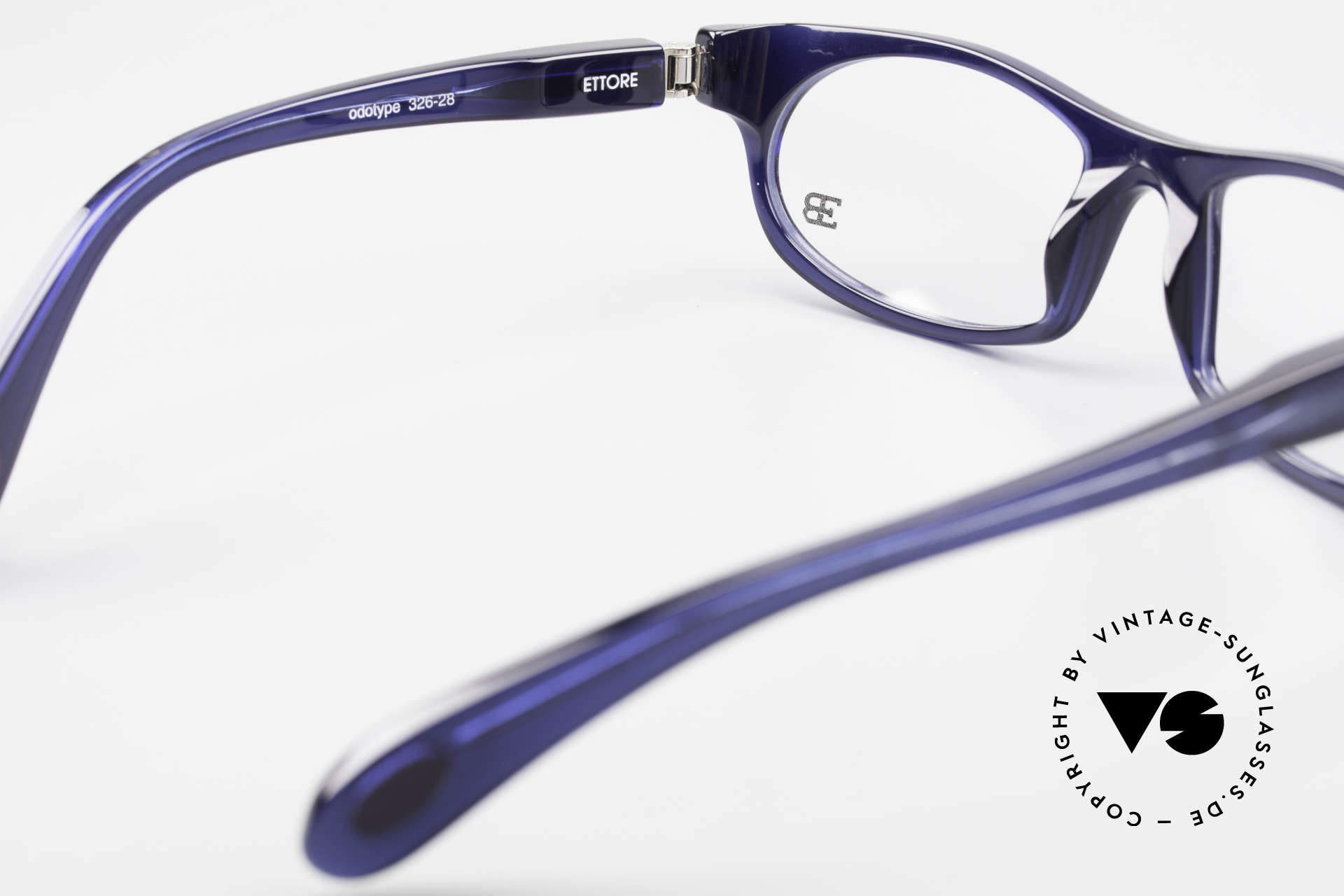 Bugatti 326 Odotype Sporty Designer Eyeglasses, DARK BLUE frame with original case & box, Made for Men
