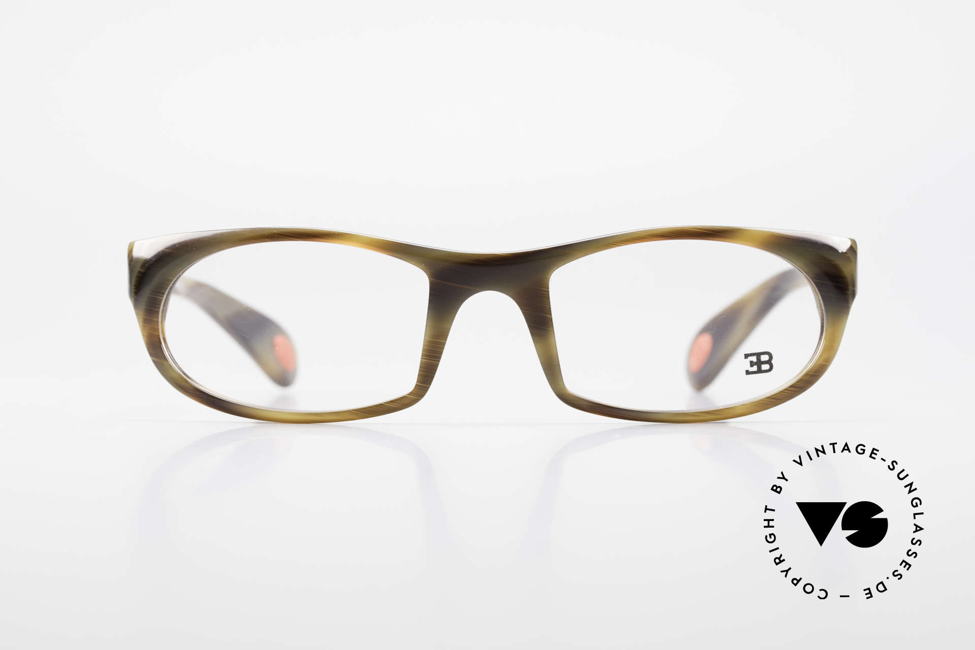 Bugatti 326 Odotype True Vintage Eyeglass-Frame, distinctive design of the ODOTYPE SERIES, Made for Men