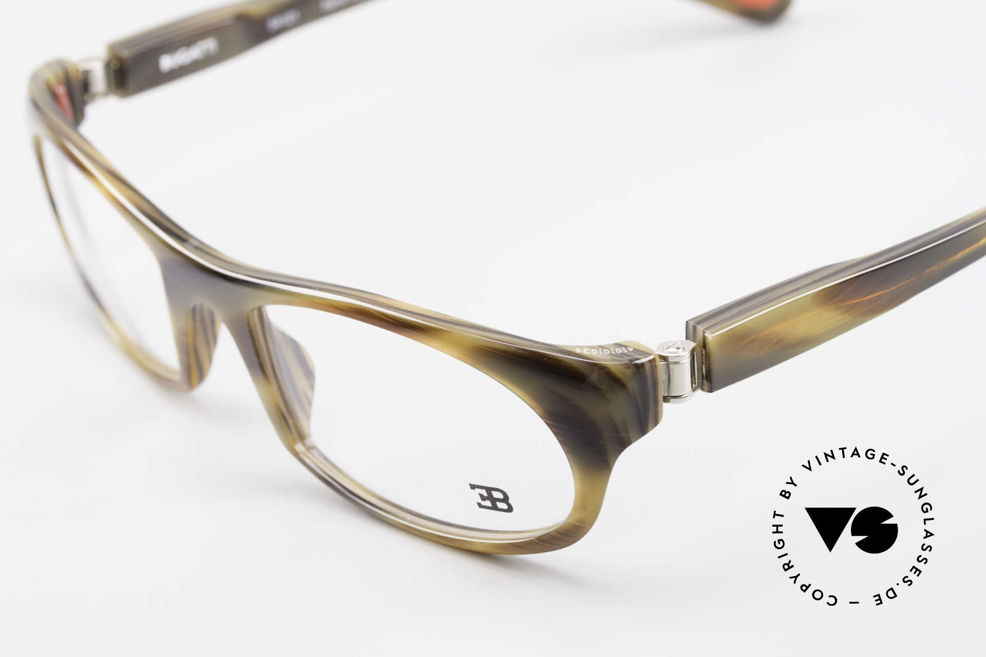 Bugatti 326 Odotype True Vintage Eyeglass-Frame, very special lens construction; TOP comfort, Made for Men