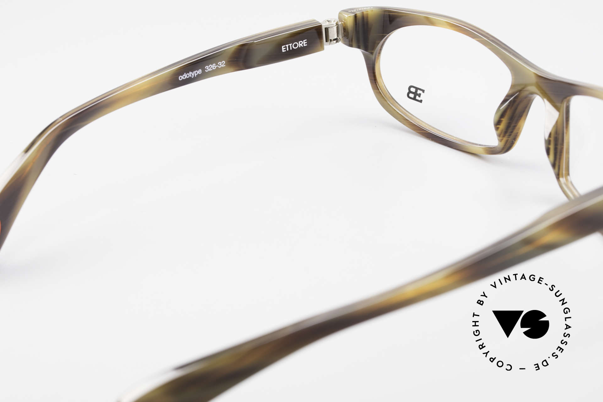 Bugatti 326 Odotype True Vintage Eyeglass-Frame, indescribable frame coloring: check photos!, Made for Men
