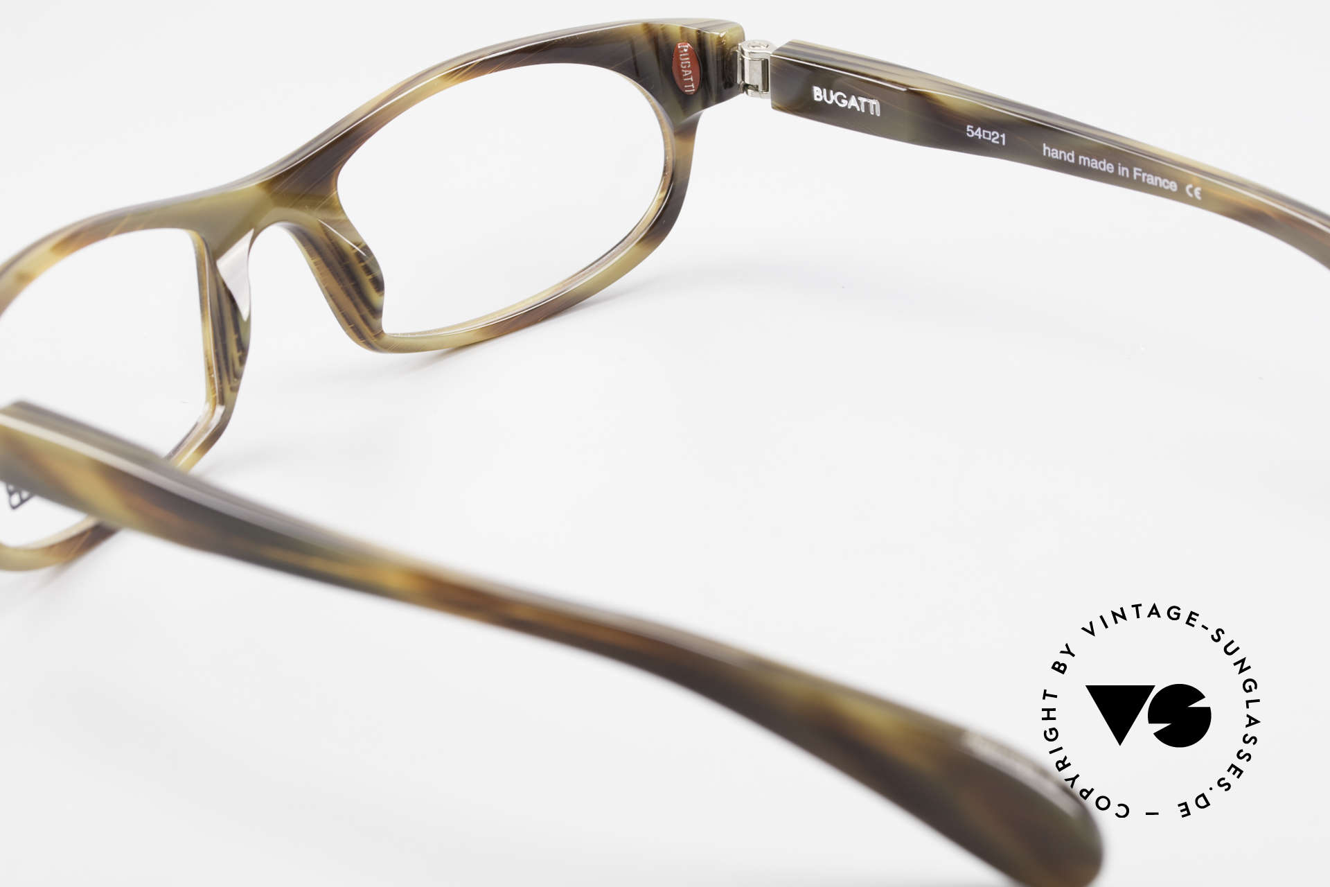 Bugatti 326 Odotype True Vintage Eyeglass-Frame, Size: medium, Made for Men