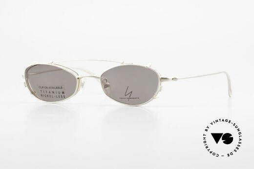 Yohji Yamamoto 52-9011 Clip On Titanium Frame GP Details