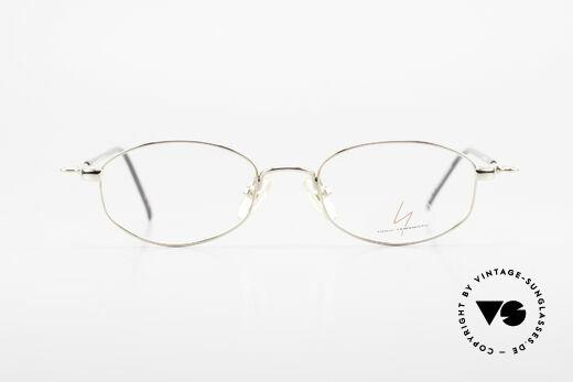 Yohji Yamamoto 51-7211 Gold Plated Frame With Clip On