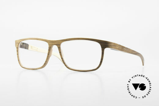 Rolf Spectacles Nomad 05 Pure Wood Eyeglasses For Men Details