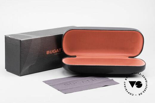 Bugatti 523 Carbon Titanium Gold Frame, Size: medium, Made for Men