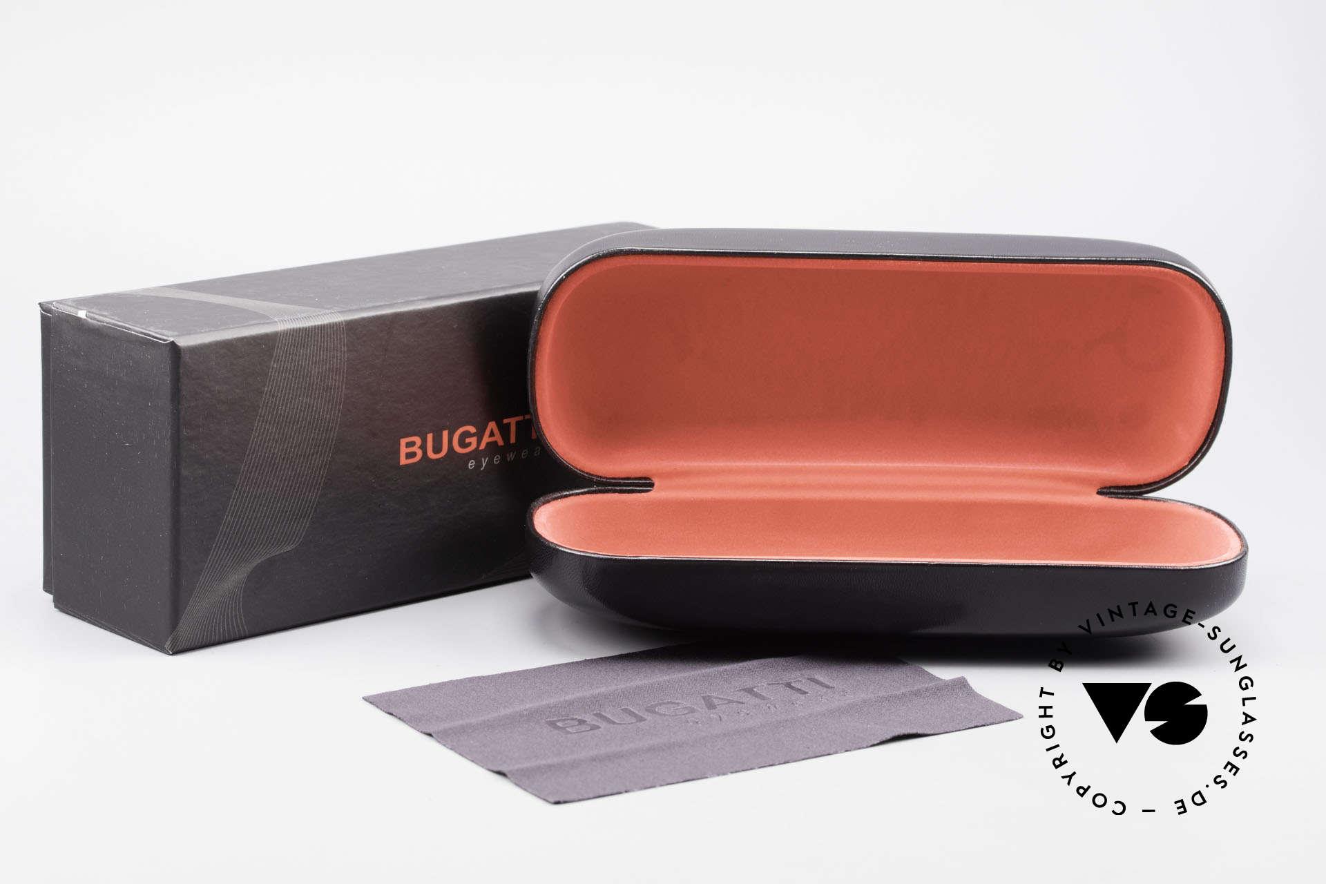 Bugatti 524 Carbon Titanium Gold Frame, Size: large, Made for Men