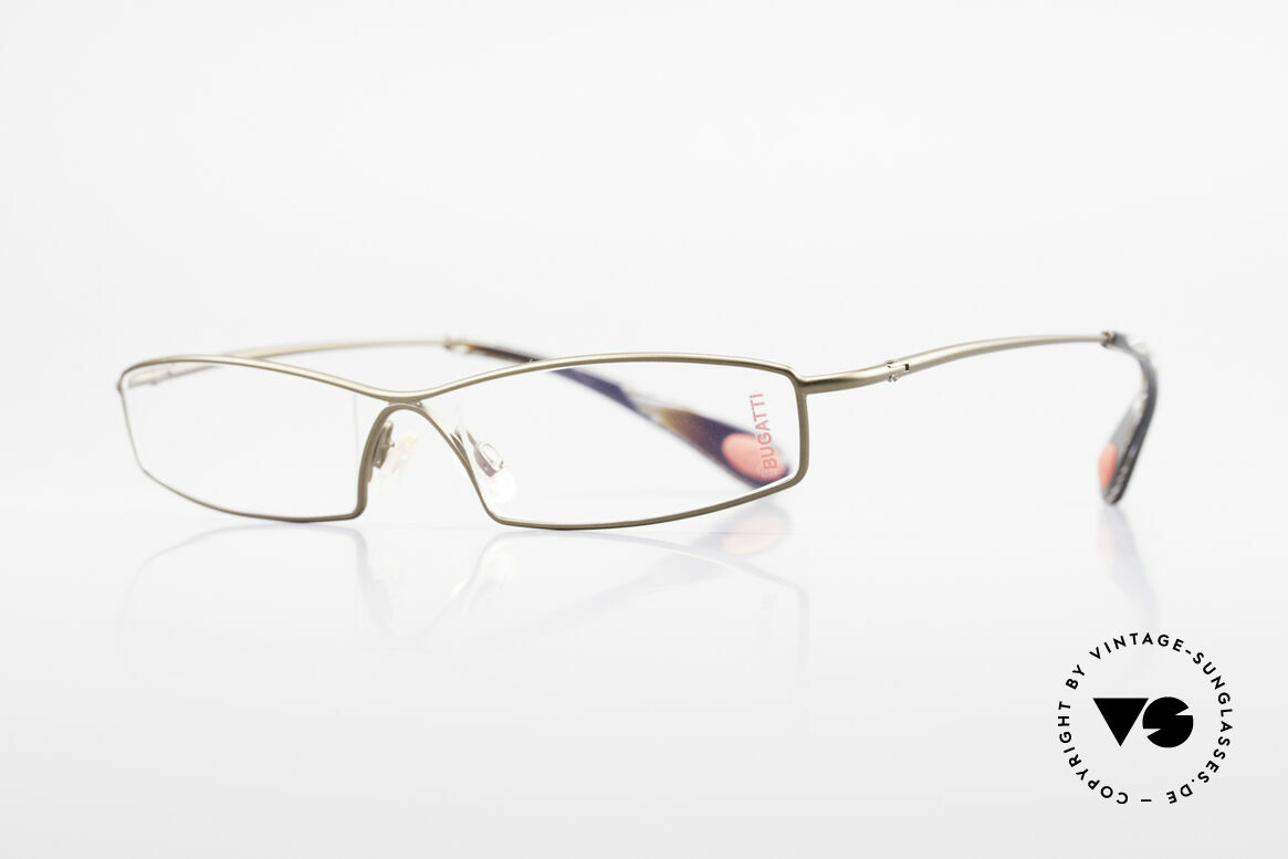 Bugatti 204 Odotype Limited Luxury Vintage Frame, high-tech frame & brilliant lens construction, Made for Men
