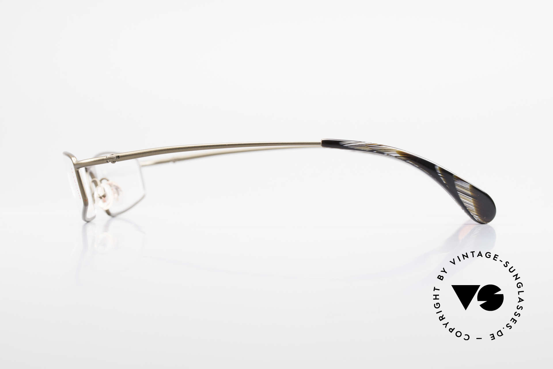 Bugatti 204 Odotype Limited Luxury Vintage Frame, demo lenses can be replaced with prescriptions, Made for Men