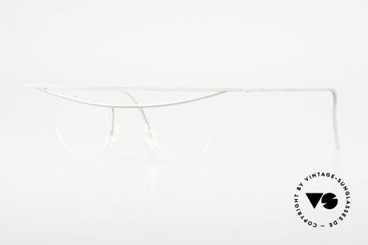 B. Angeletti Cesna Vintage Architect's Glasses XL Details