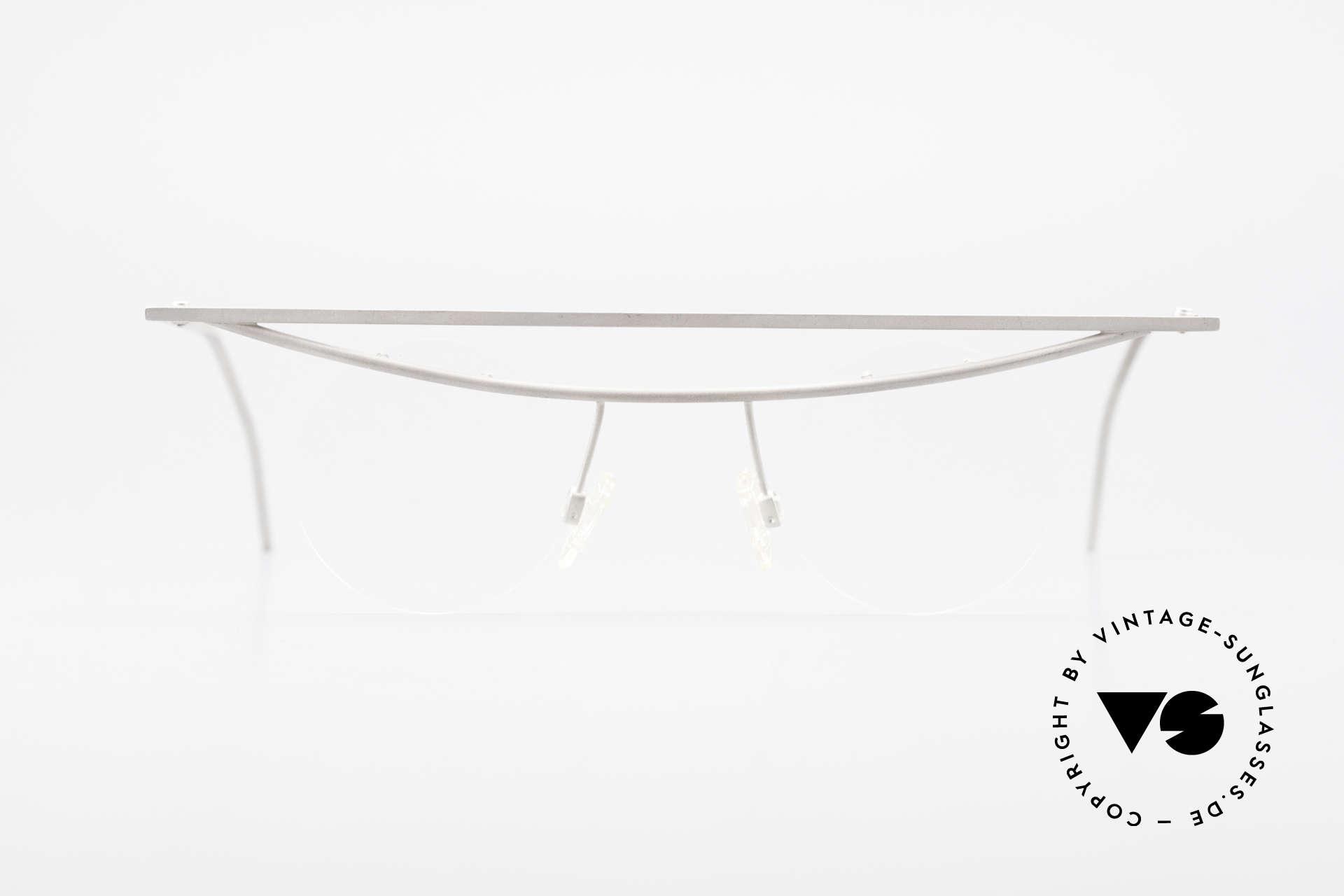 B. Angeletti Cesna Vintage Architect's Glasses XL, designer frame (inspired by architect Marcel Breuer), Made for Men and Women