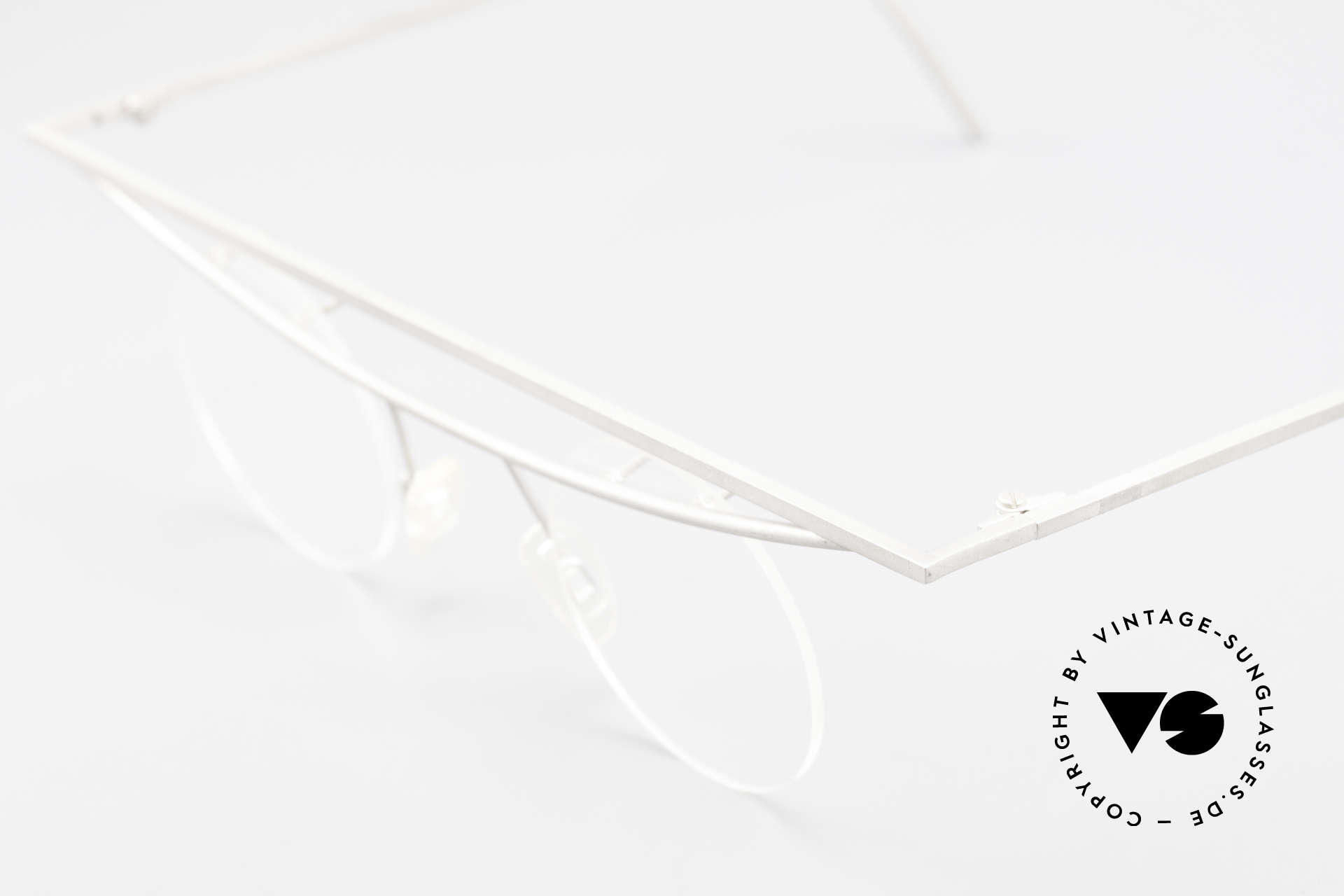 B. Angeletti Cesna Vintage Architect's Glasses XL, true rarity, handmade, vertu, for all lovers of design, Made for Men and Women
