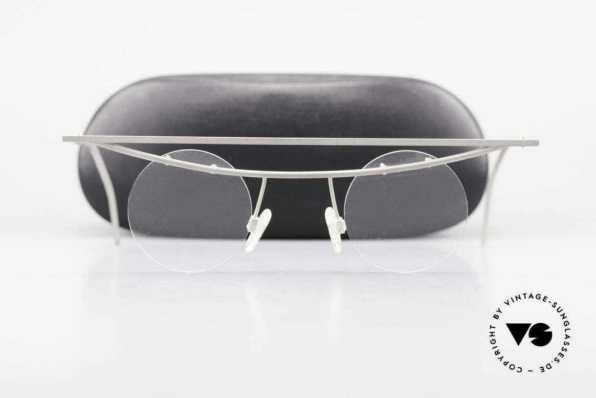 B. Angeletti Cesna Vintage Architect's Glasses XL, Size: large, Made for Men and Women