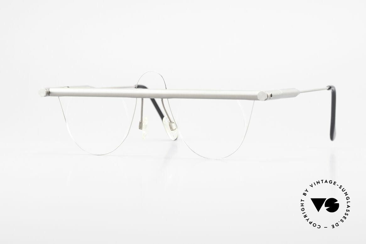 "Bauhaus Rohrbrille Bauhaus Glasses Marcel Breuer, unique ""Bauhaus"" vintage eyeglasses from the 1990's, Made for Men and Women"