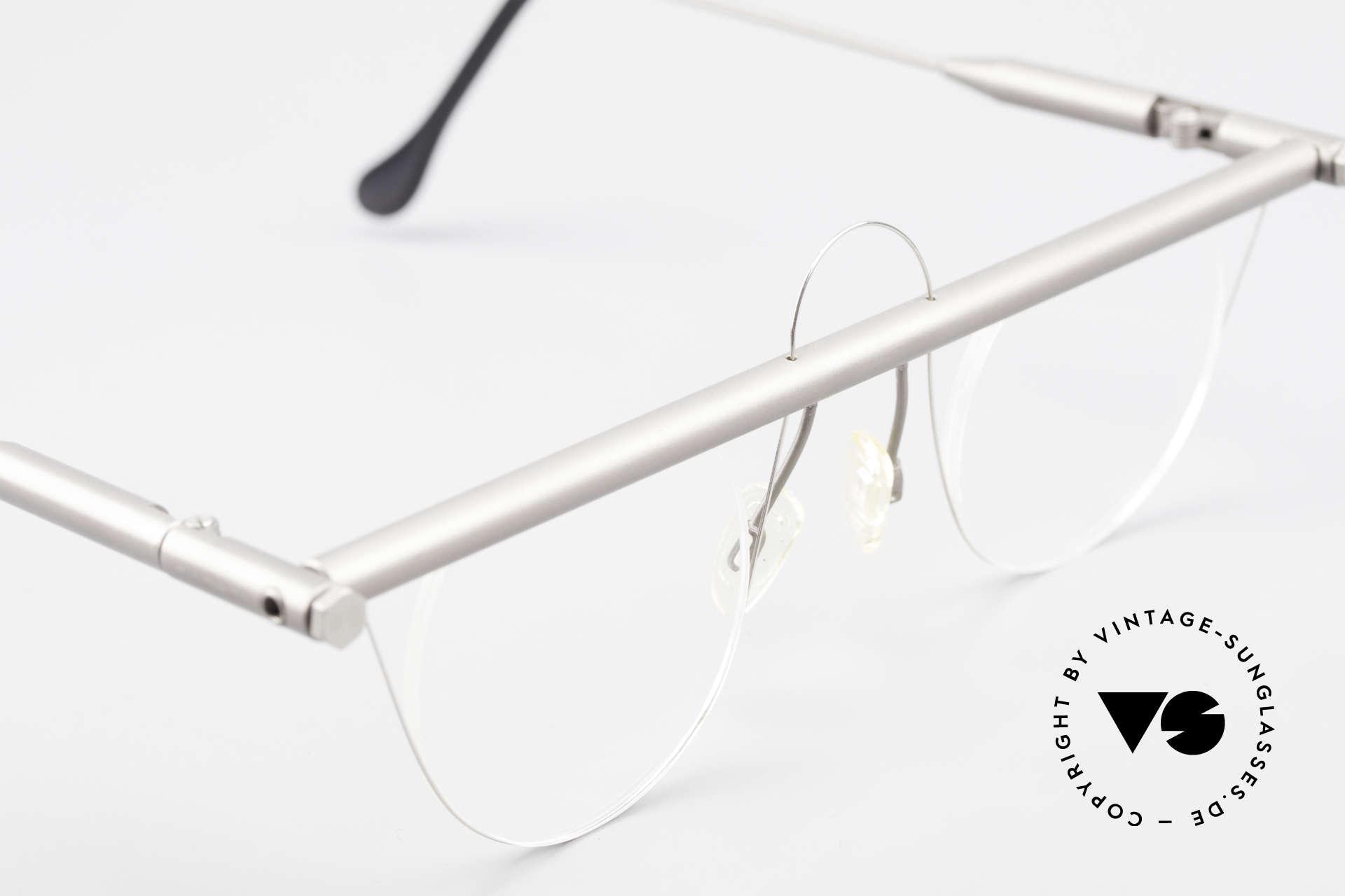 Bauhaus Rohrbrille Bauhaus Glasses Marcel Breuer, spiritual / intellectual frame design for individualists, Made for Men and Women