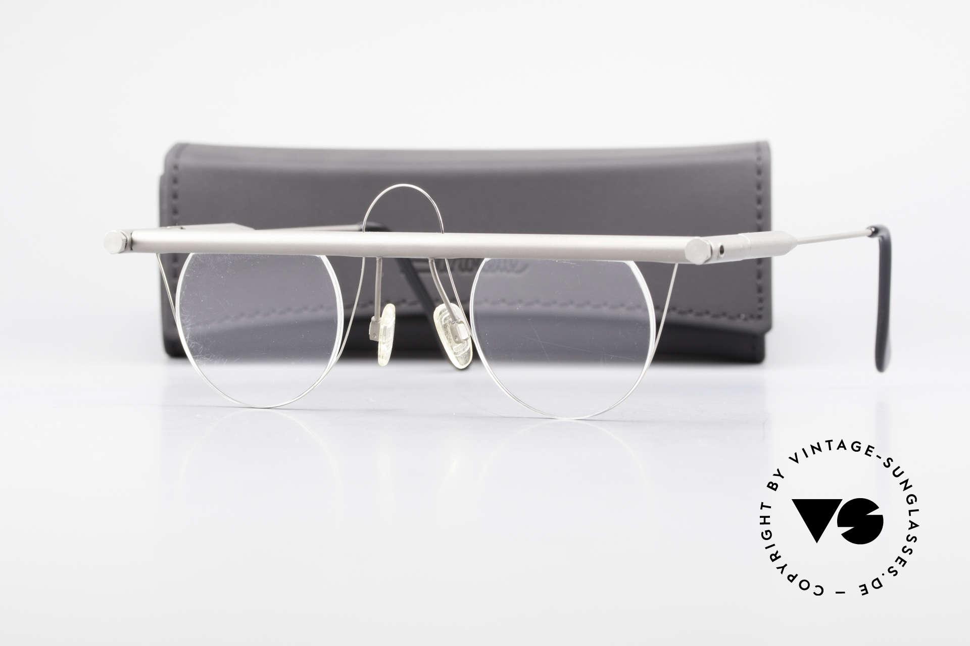 Bauhaus Rohrbrille Bauhaus Glasses Marcel Breuer, Size: medium, Made for Men and Women
