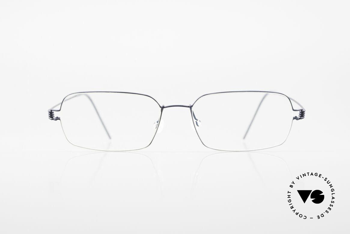 Lindberg Marco Air Titan Rim Titanium Designer-Specs Men, LINDBERG Air Titanium Rim eyeglasses in size 52-16, Made for Men