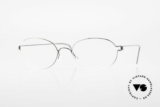 Lindberg Galar Air Titan Rim Oval Titanium Glasses Unisex Details