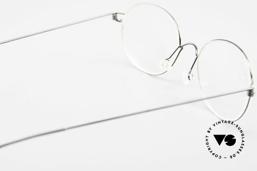 Lindberg Galar Air Titan Rim Oval Titanium Glasses Unisex, simple & strong frame: free from screws, rivets & welds, Made for Men and Women
