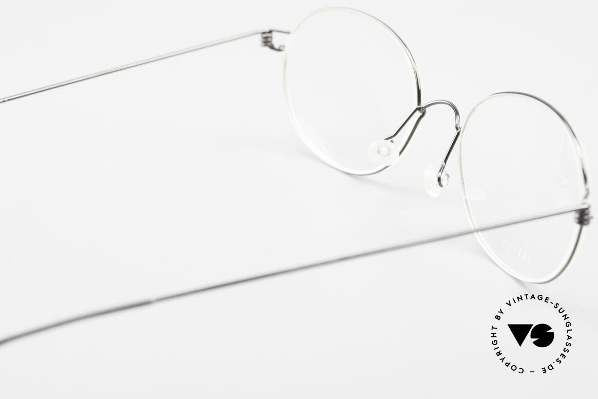 Lindberg Galar Air Titan Rim Oval Titanium Glasses Unisex