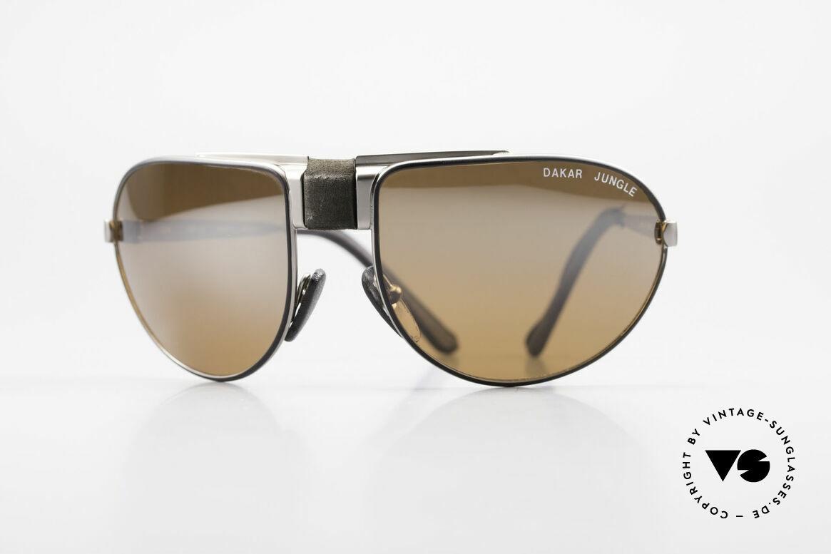 Cebe Dakar Jungle QD02 High-Tech Racing Sunglasses, vintage CEBE sports shades - made for extreme purpose, Made for Men and Women