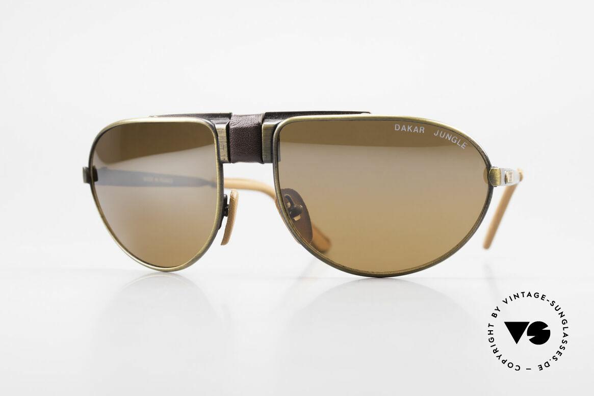 Cebe Dakar Jungle QD01 High-Tech Racing Sunglasses, vintage CEBE sports shades - made for extreme purpose, Made for Men and Women