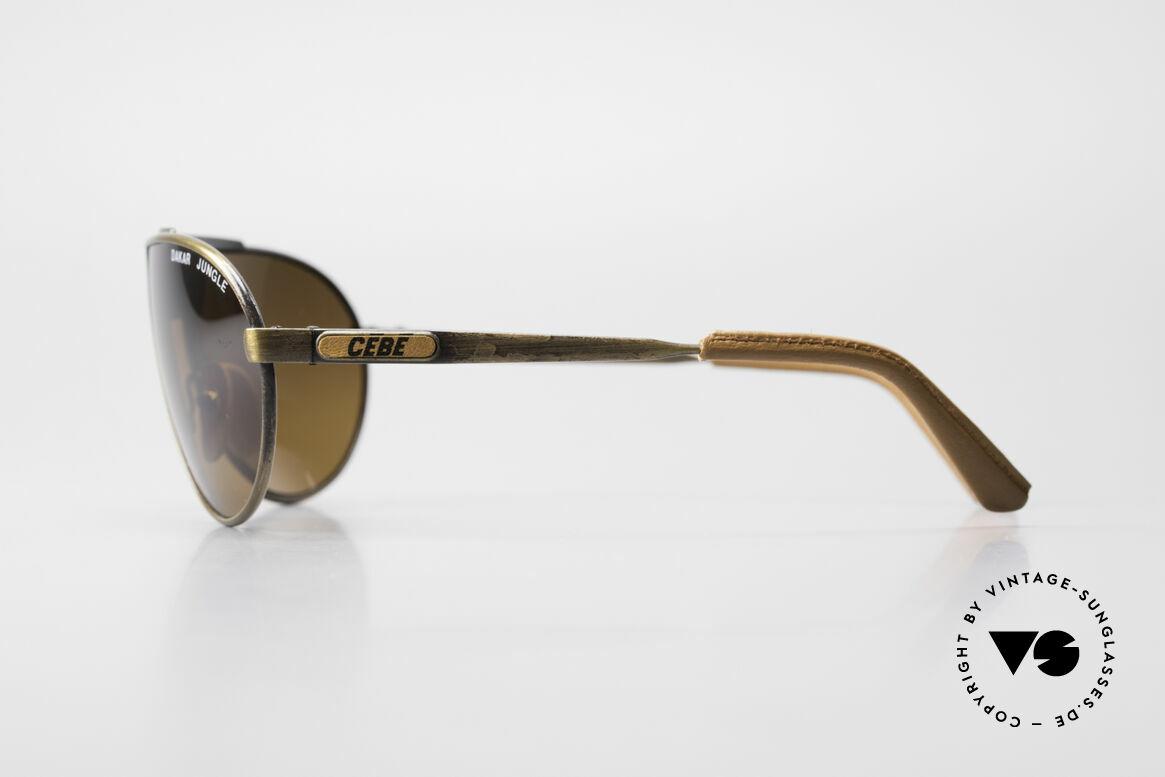 Cebe Dakar Jungle QD01 High-Tech Racing Sunglasses, mirrored cebonate lenses; made for extreme sun intensity, Made for Men and Women