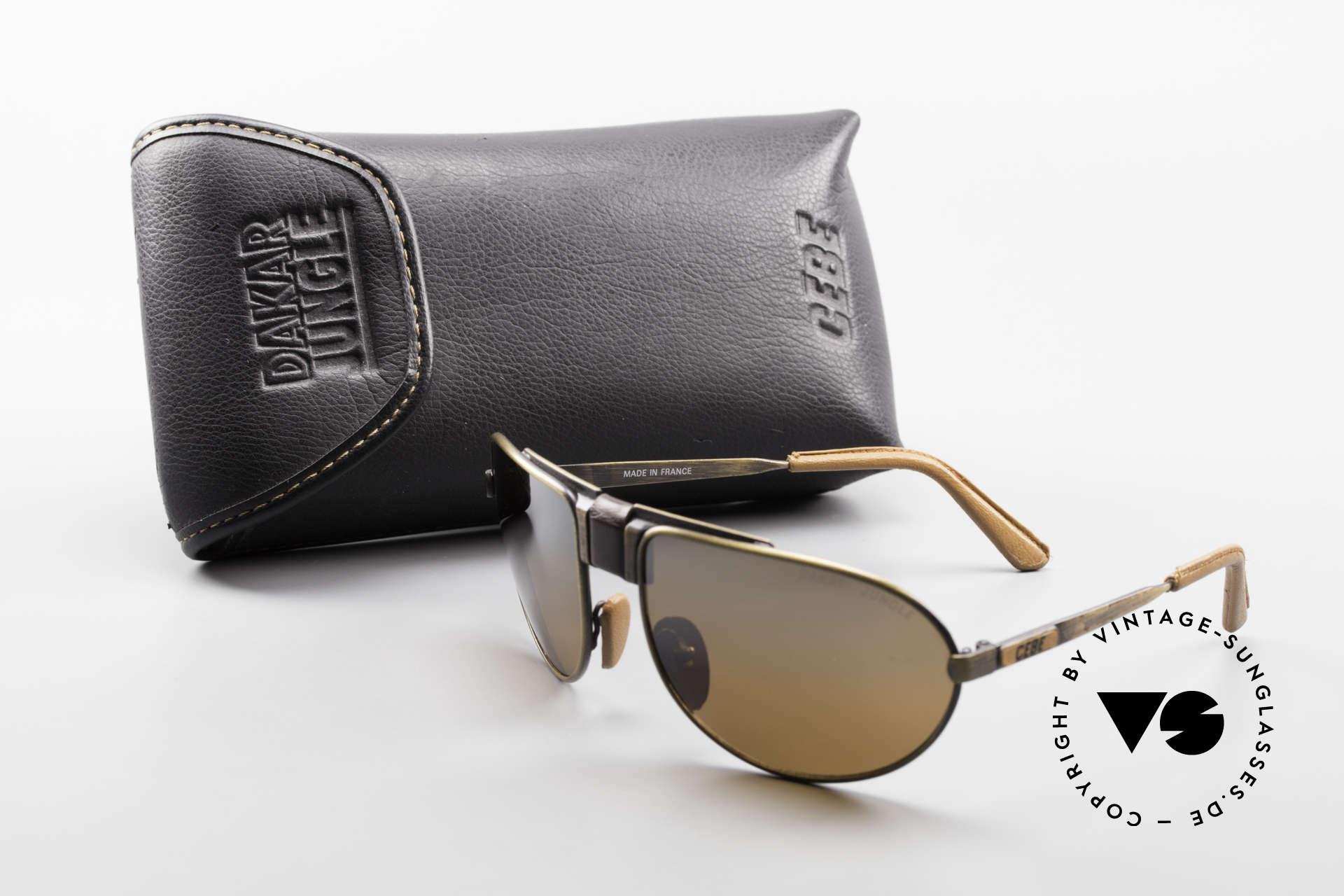 Cebe Dakar Jungle QD01 High-Tech Racing Sunglasses, Size: small, Made for Men and Women